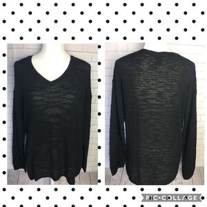 Calvin Klein women's pullover size large black